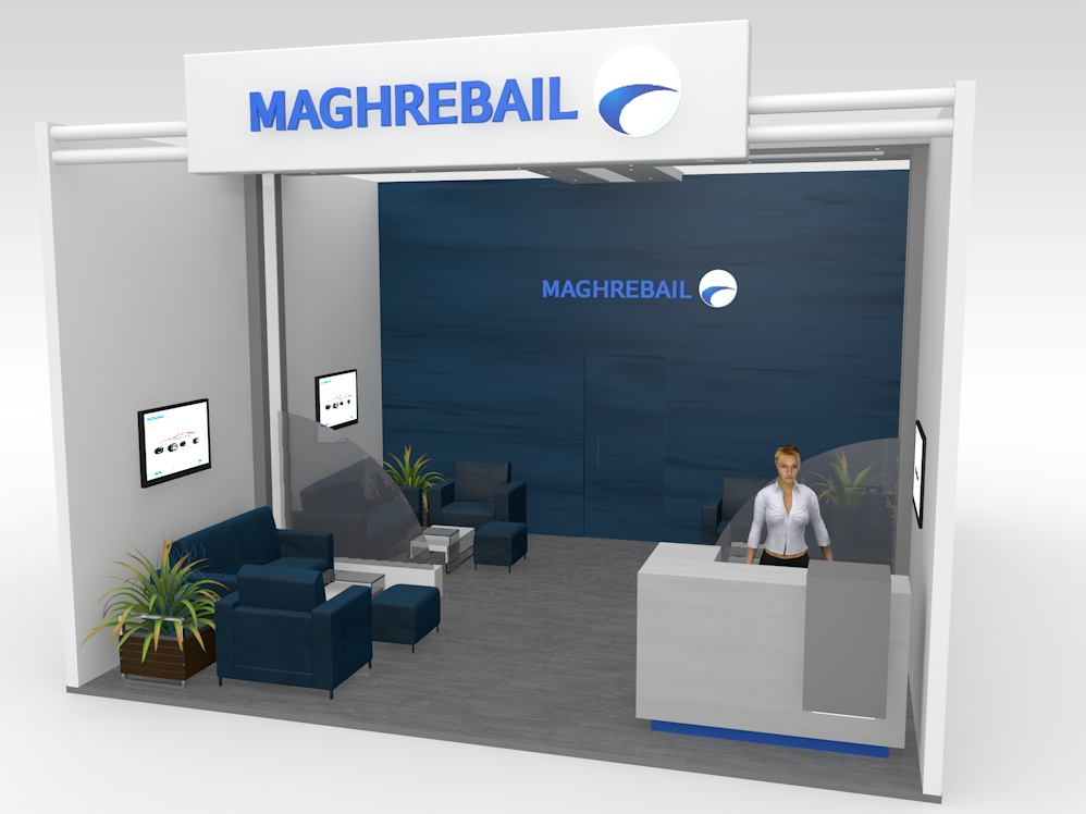 Design stand Magrebail
