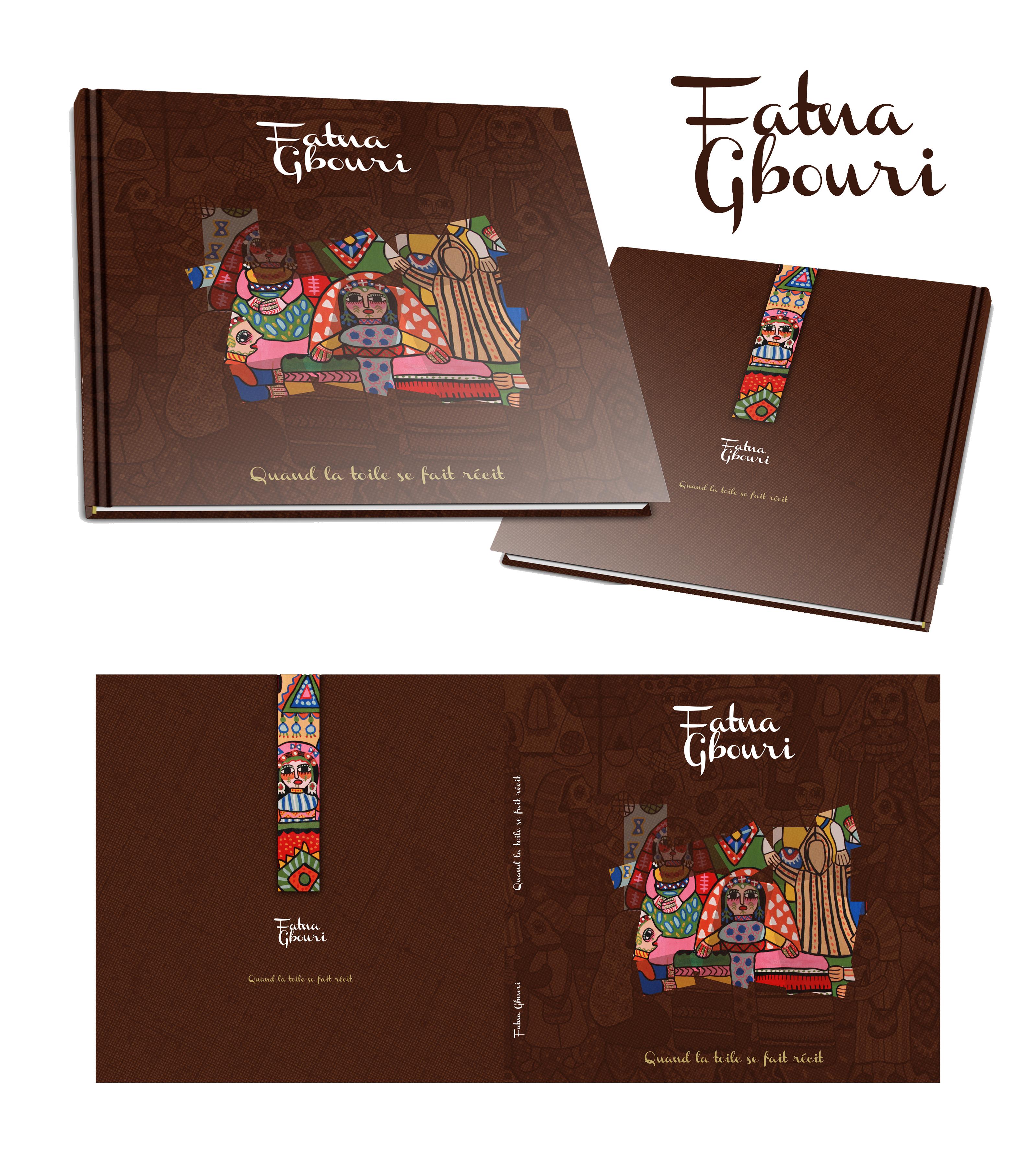 Livre d'art  Fatna Gbouri
